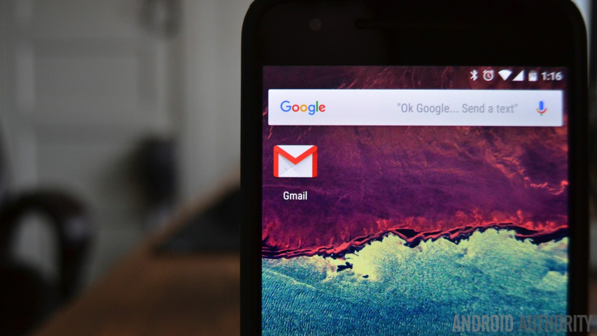Pressing a phone number or email address in Gmail or Inbox now opens the corresponding app